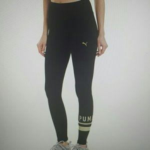 Athletic logo leggings